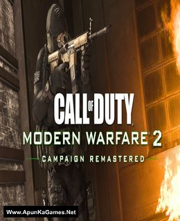 Call of Duty Modern Warfare 2 Campaign Remastered Cover, Poster, Full Version, PC Game, Download Free