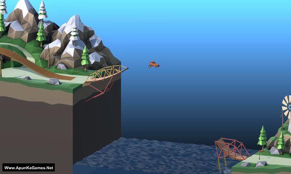 Poly Bridge 2 Screenshot 1, Full Version, PC Game, Download Free