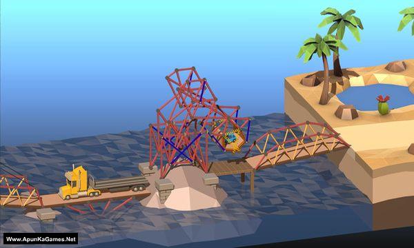 Poly Bridge 2 Screenshot 3, Full Version, PC Game, Download Free