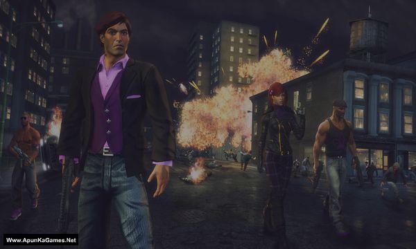 Saints Row The Third Remastered Screenshot 2, Full Version, PC Game, Download Free