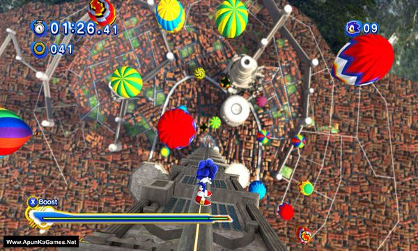 Sonic Generations Screenshot 1, Full Version, PC Game, Download Free