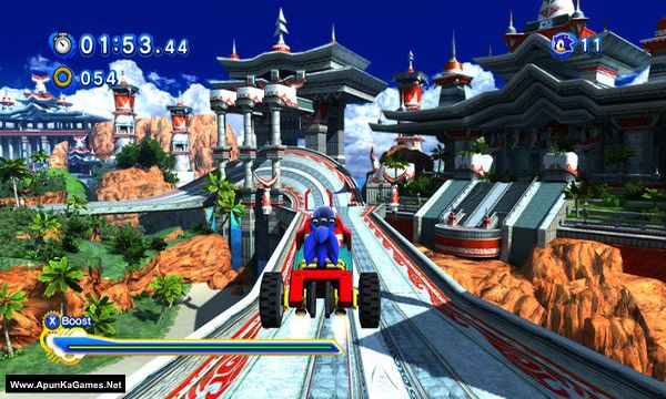 Sonic Generations Screenshot 2, Full Version, PC Game, Download Free