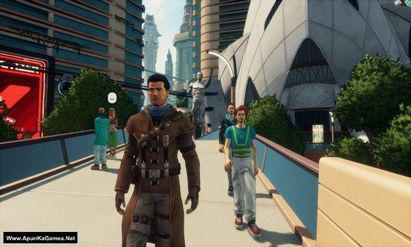 Beneath a Steel Sky Screenshot 3, Full Version, PC Game, Download Free