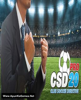 Club Soccer Director PRO 2020 Cover, Poster, Full Version, PC Game, Download Free