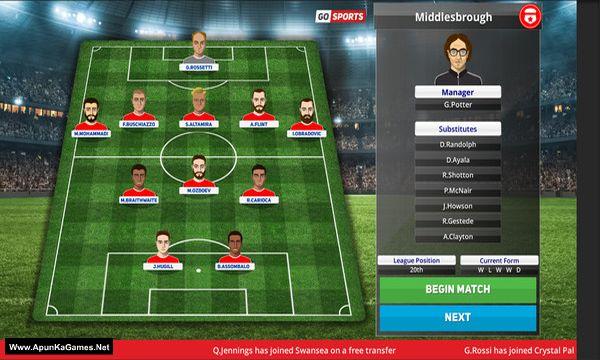 Club Soccer Director PRO 2020 Screenshot 3, Full Version, PC Game, Download Free