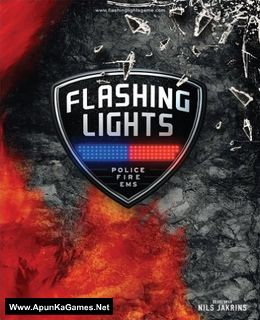 Flashing Lights - Police, Firefighting, Emergency Services Simulator Cover, Poster, Full Version, PC Game, Download Free