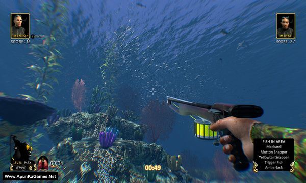 Freediving Hunter Spearfishing the World Screenshot 1, Full Version, PC Game, Download Free