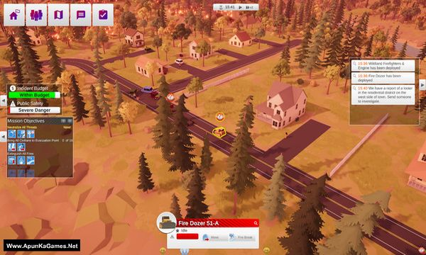 Incident Commander Screenshot 1, Full Version, PC Game, Download Free