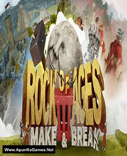 Rock of Ages 3: Make & Break Cover, Poster, Full Version, PC Game, Download Free