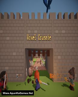 Voxel Crusade Cover, Poster, Full Version, PC Game, Download Free
