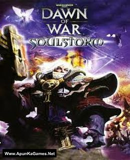 Warhammer 40,000 Dawn of War Soulstorm Cover, Poster, Full Version, PC Game, Download Free