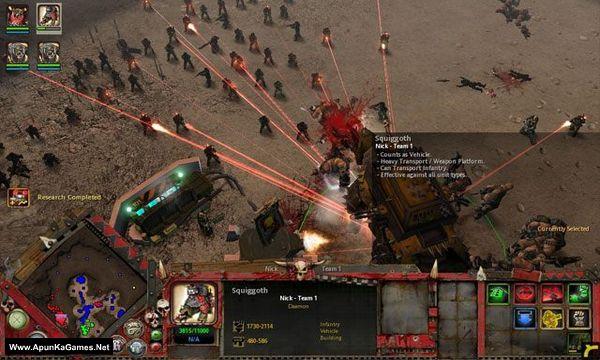 Warhammer 40,000 Dawn of War Soulstorm Screenshot 1, Full Version, PC Game, Download Free