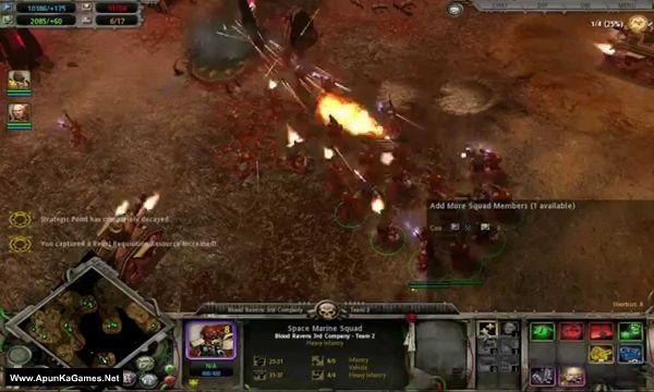 Warhammer 40,000 Dawn of War Soulstorm Screenshot 3, Full Version, PC Game, Download Free