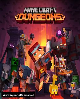 Minecraft Dungeons Cover, Poster, Full Version, PC Game, Download Free