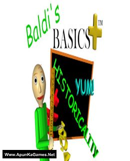 Baldi's Basics Plus Cover, Poster, Full Version, PC Game, Download Free