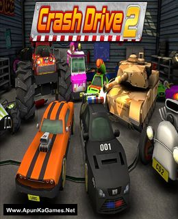 Crash Drive 2 Cover, Poster, Full Version, PC Game, Download Free
