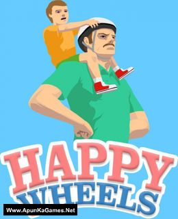 Happy Wheels Cover, Poster, Full Version, PC Game, Download Free