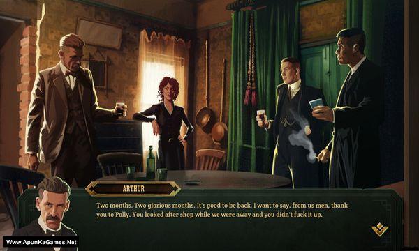 Peaky Blinders: Mastermind Screenshot 1, Full Version, PC Game, Download Free