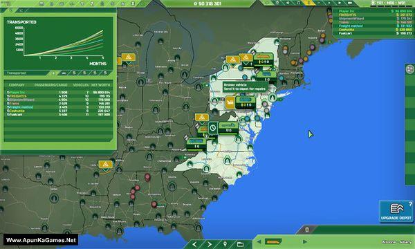 Transport INC Screenshot 1, Full Version, PC Game, Download Free