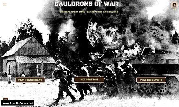 Cauldrons of War: Barbarossa Screenshot 1, Full Version, PC Game, Download Free