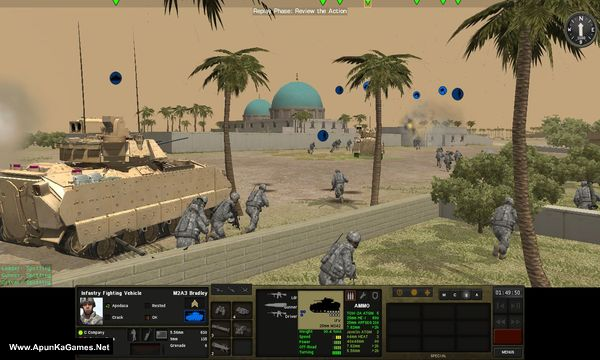 Combat Mission Shock Force 2 Screenshot 1, Full Version, PC Game, Download Free