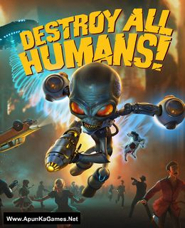 Destroy All Humans Cover, Poster, Full Version, PC Game, Download Free