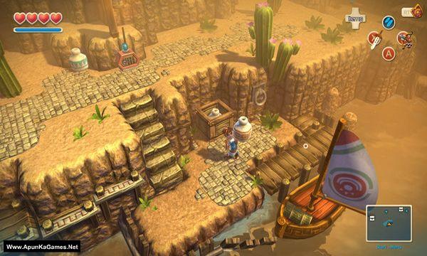 Oceanhorn: Monster of Uncharted Seas Screenshot 1, Full Version, PC Game, Download Free