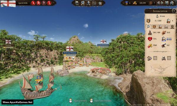 Port Royale 4 Screenshot 1, Full Version, PC Game, Download Free