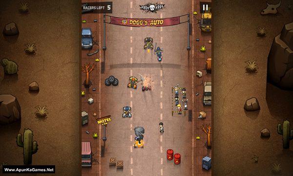 Rude Racers: 2D Combat Racing Screenshot 1, Full Version, PC Game, Download Free