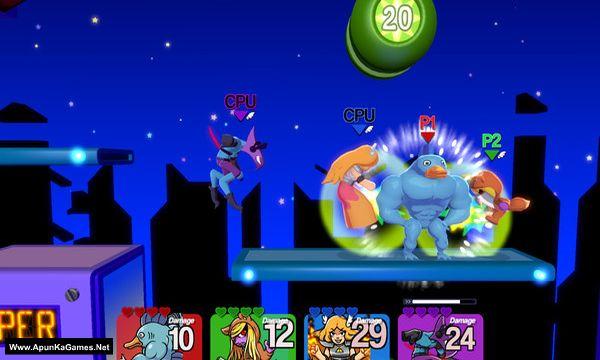 Slap City Screenshot 1, Full Version, PC Game, Download Free