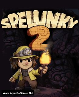 Spelunky 2 Cover, Poster, Full Version, PC Game, Download Free