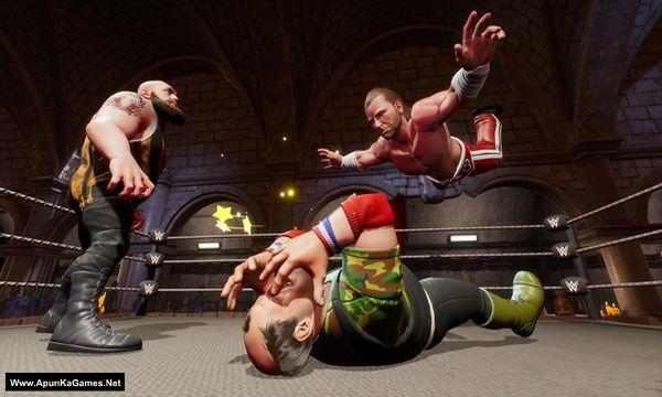 WWE 2K Battlegrounds Screenshot 1, Full Version, PC Game, Download Free