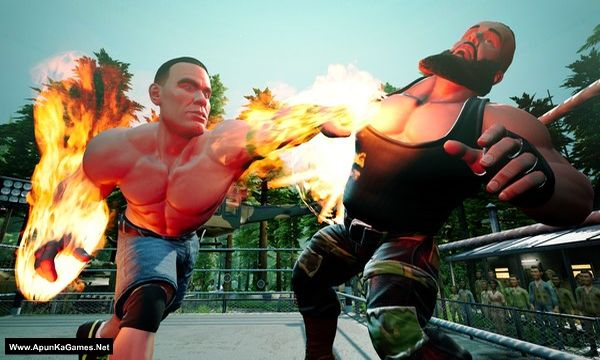 WWE 2K Battlegrounds Screenshot 3, Full Version, PC Game, Download Free