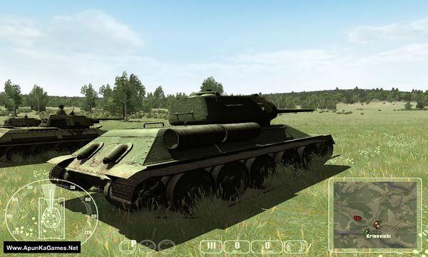 WWII Battle Tanks: T -34 vs. Tiger Screenshot 1, Full Version, PC Game, Download Free