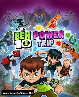 Ben 10: Power Trip Cover, Poster, Full Version, PC Game, Download Free