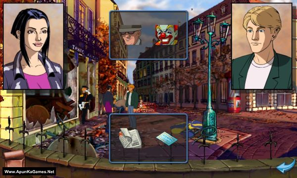 Broken Sword: Director's Cut Screenshot 1, Full Version, PC Game, Download Free