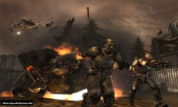 Enemy Territory: Quake Wars Screenshot 2, Full Version, PC Game, Download Free