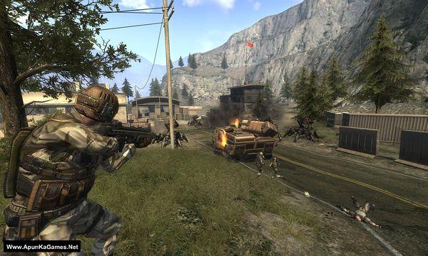 Enemy Territory: Quake Wars Screenshot 3, Full Version, PC Game, Download Free