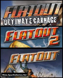 FlatOut Trilogy Cover, Poster, Full Version, PC Game, Download Free