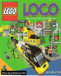 Lego Loco Cover, Poster, Full Version, PC Game, Download Free