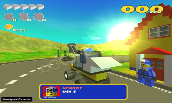 Lego Racers 2 Screenshot 1, Full Version, PC Game, Download Free