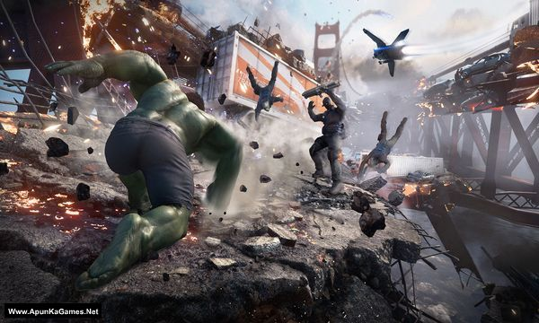 Marvel's Avengers Screenshot 1, Full Version, PC Game, Download Free