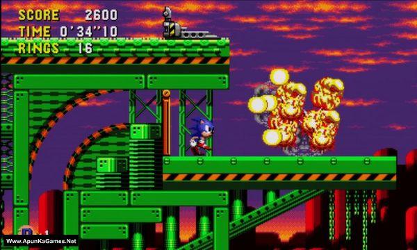 Sonic CD Screenshot 3, Full Version, PC Game, Download Free
