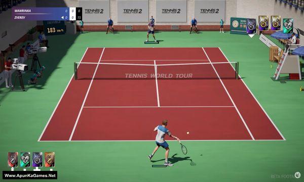 Tennis World Tour 2 Screenshot 1, Full Version, PC Game, Download Free