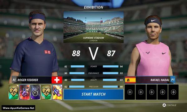 Tennis World Tour 2 Screenshot 2, Full Version, PC Game, Download Free