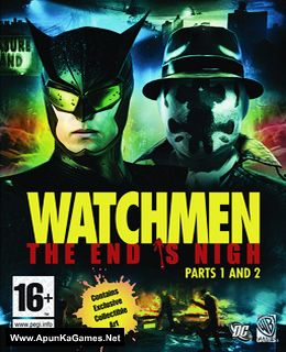 Watchmen: The End Is Nigh Cover, Poster, Full Version, PC Game, Download Free