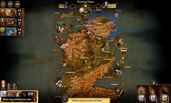 A Game of Thrones: The Board Game Screenshot 2, Full Version, PC Game, Download Free