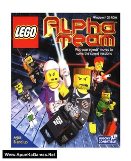 Lego Alpha Team Cover, Poster, Full Version, PC Game, Download Free