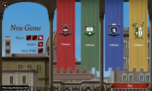 Lorenzo il Magnifico Screenshot 1, Full Version, PC Game, Download Free