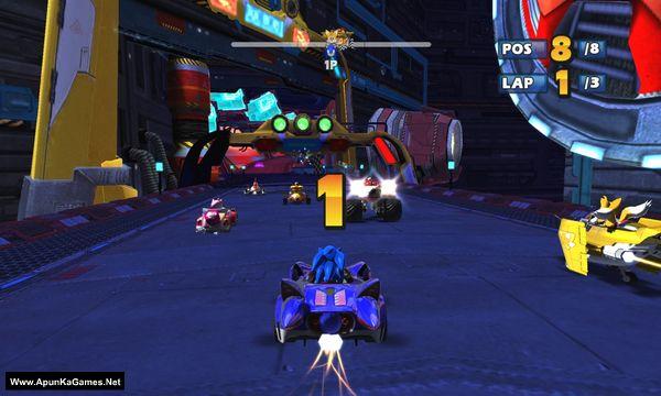 Sonic & Sega All-Stars Racing Screenshot 1, Full Version, PC Game, Download Free